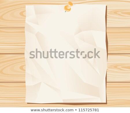 levélpapír · papír · notebook · fehér · makró · üres - stock fotó © taigi