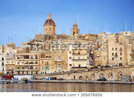 tradicional · arquitectura · Malta · edificio · verano · retro - foto stock © pixelmemoirs