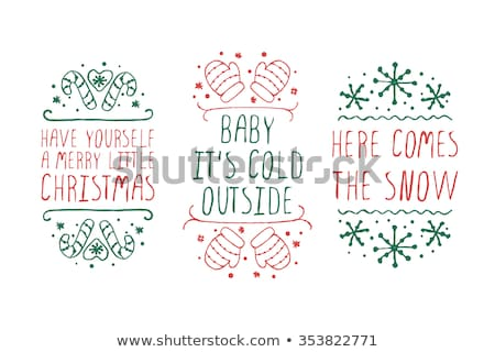 its cold out here Stock photo © jayfish