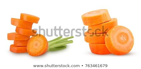 sárgarépa · boglya · nagy · friss · répák · természet - stock fotó © jadthree