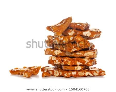 nougat and nut Stock photo © M-studio