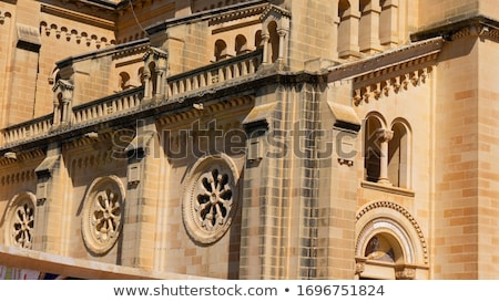 detail of church in gozo island malta Stock photo © travelphotography