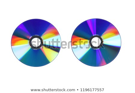 disk dvd cd rom isolated Stock photo © experimental