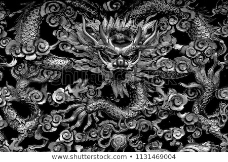 chinese temple sculptures Stock photo © smithore