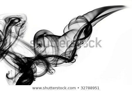 Magic Fume abstract over the white Stock photo © Arsgera