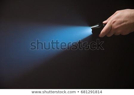 zseb · elemlámpa · fekete · elektromos · izolált · fehér - stock fotó © digitalr