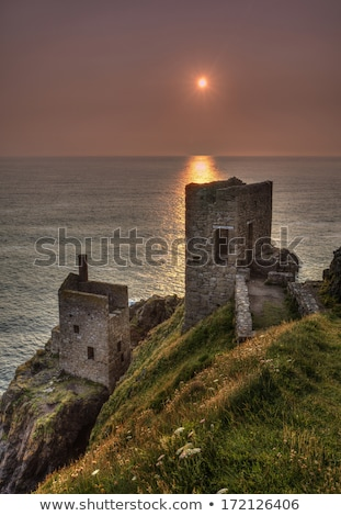 Crown Mines ruins, Botallack Stock photo © photohome