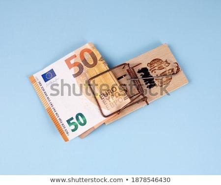 arriscado · armadilha · euro · dinheiro · perigoso · negócio - foto stock © franky242