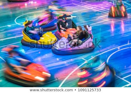 Stok fotoğraf: Araba · küçük · atlıkarınca · çocuklar · spor · dizayn
