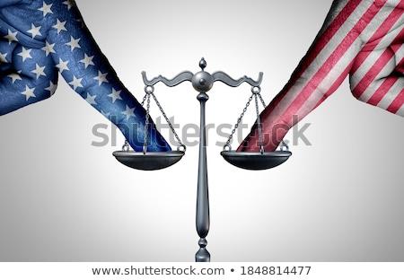Yasal iş kitap çekiç başarı avukat Stok fotoğraf © 4designersart