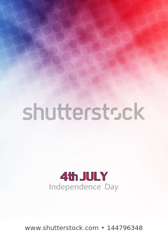 abstract american themed background with star vector eps10 stock photo © pashabo