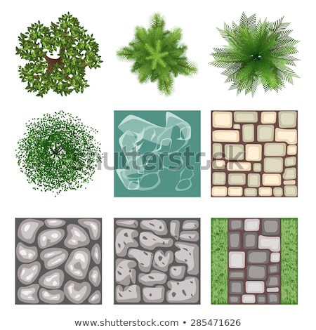 Floor plan in grass Stock photo © Florisvis