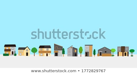 Residential area Stock photo © Roka