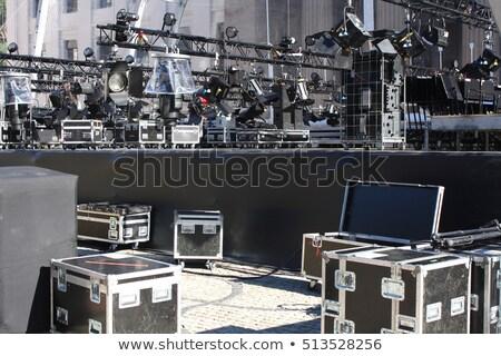 muziek · geluid · uitrusting · vector · kunst - stockfoto © nasonovicons