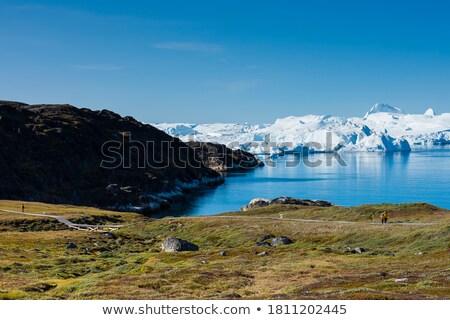 kolay · yürüyüş · rota · ünlü · buzul · gökyüzü - stok fotoğraf © Imagix