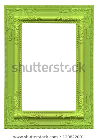 Green Picture Frame Stock photo © Stephanie_Zieber