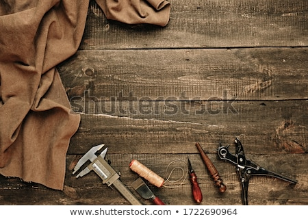 leathercraft background Stock photo © RedDaxLuma