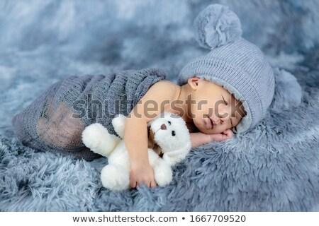 weinig · baby · pluche · beer · speelgoed - stockfoto © Anna_Om