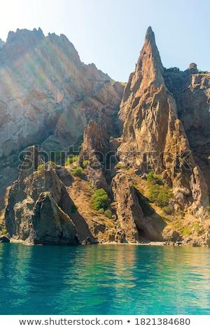 peak rock Stock photo © pedrosala