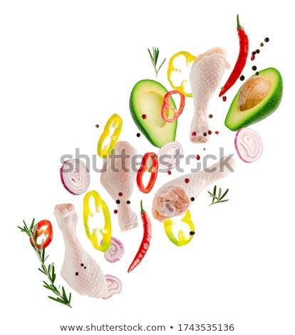 fresh healthy vegetables Stock photo © ssuaphoto