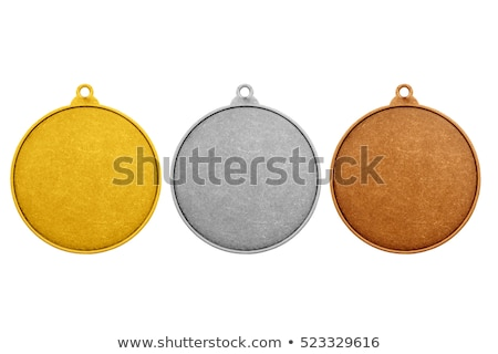 Stock photo: Old medal isolated
