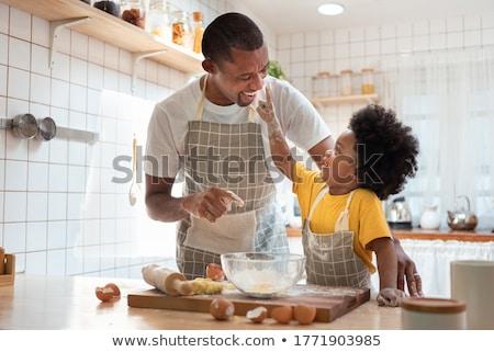 Men baking together Stock photo © photography33