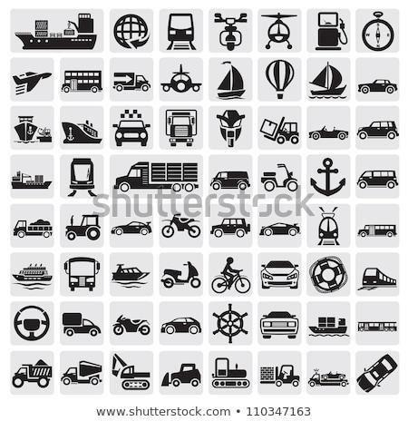 assinar · proibir · motocicletas · acelerar · prato · liberdade - foto stock © ecelop