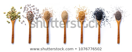 Healthy seeds and grains Stock photo © FOTOYOU