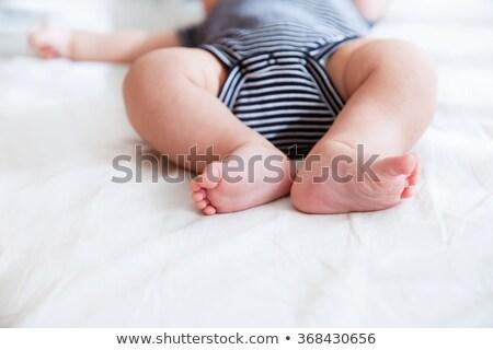 ritratto · bella · dormire · baby · bianco - foto d'archivio © photocreo