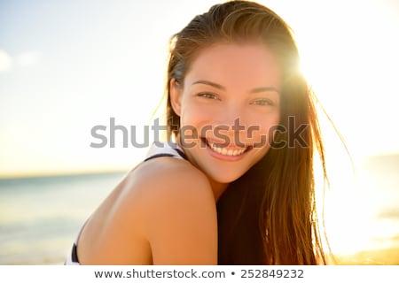 женщину · красивой · танцовщицы · цветок · девушки · Sexy - Сток-фото © adrenalina