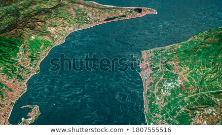 Manzaralı görmek İtalyan liman manzara arka plan Stok fotoğraf © jirivondrous