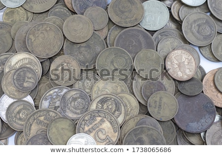 Old Soviet rouble. Stock photo © grechka333