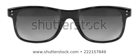 Gafas de sol negro marco gris color lente Foto stock © keneaster1