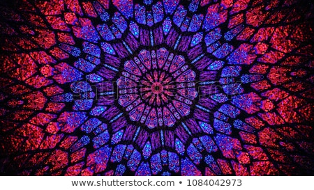 Caleidoscópio vetor padrão abstrato textura fundo Foto stock © odina222
