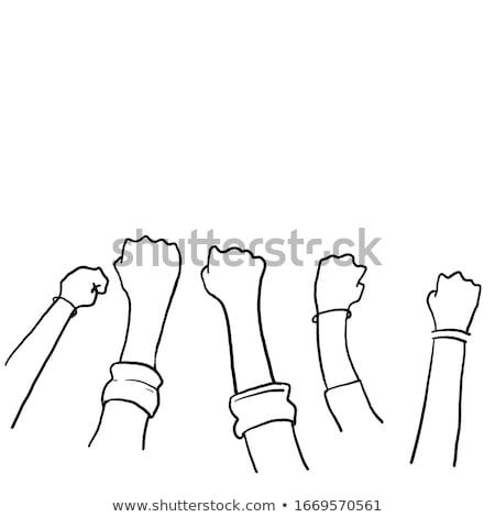 grunge · união · bandeira · estilo · fundo - foto stock © polygraphus