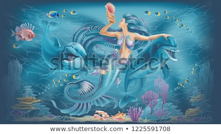 dolphin   3d render stock photo © elenarts
