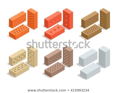 vektor · építkezés · szerszámok · sisak · izolált · fehér - stock fotó © rizwanali3d