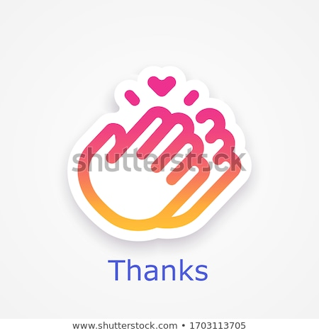 Thank you for your help Stock photo © Lighthunter