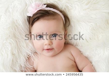 美しい · 肖像 · 少女 · 赤ちゃん · 顔 - ストックフォト © eleaner