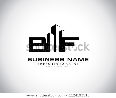 Abstract skyscrapers- logo for real estate or architecture firm Stock photo © shawlinmohd