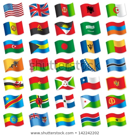 Великобритания Эритрея флагами головоломки изолированный белый Сток-фото © Istanbul2009