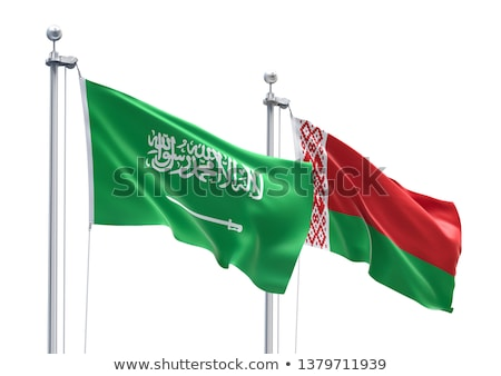 Saudi Arabia and Belarus Flags Stock photo © Istanbul2009