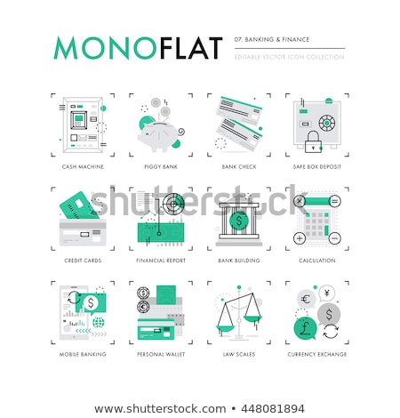 Personal Income Icon. Business Concept. Flat Design. Stock photo © WaD