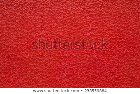 Red Colored Leather Texture Background Stock photo © Akhilesh