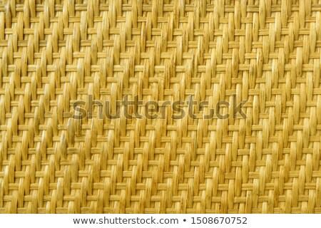 saman · model · doku · kutu · bambu · ülke - stok fotoğraf © paha_l