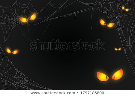 Spooky Eyes Card Stock photo © Anna_leni