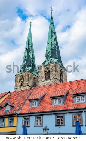 old landmark in quedlinburg stock photo © compuinfoto
