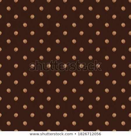 Kahverengi altın polka stil renk duvar kağıdı Stok fotoğraf © SArts