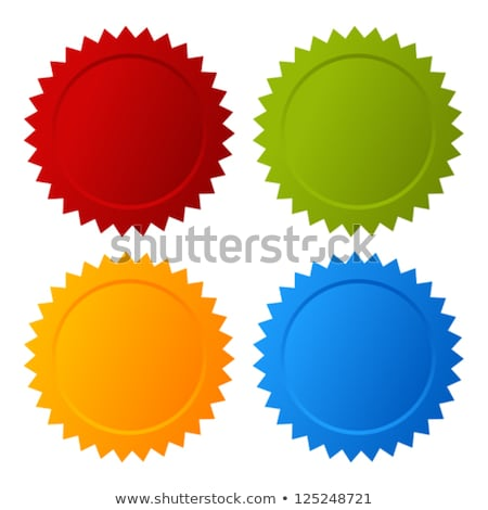 Blank token, vector illustration Stock photo © fresh_5265954