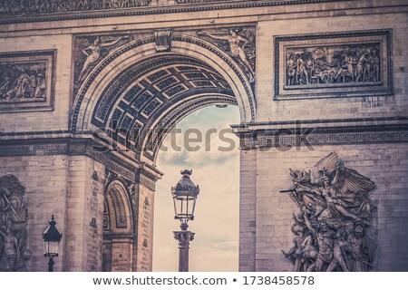 Arco triunfo París Francia ciudad Foto stock © alessandro0770